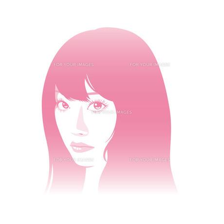 女性 顔アップの素材 [FYI00308775]