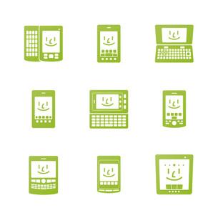 スマートフォンアイコンの素材 [FYI00308787]