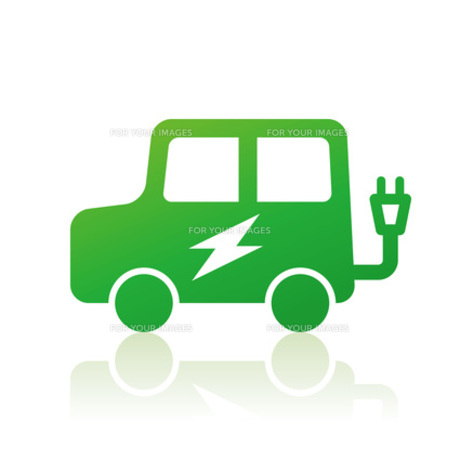 電気自動車の素材 [FYI00308801]