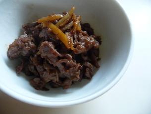 牛肉のしぐれ煮の写真素材 [FYI00308815]