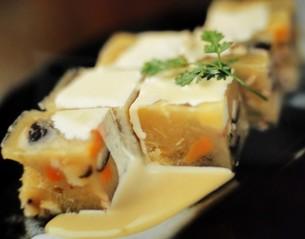 寒天風海草豆腐の写真素材 [FYI00308878]