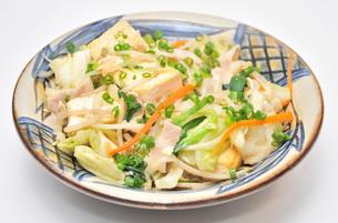 豆腐チャンプルーの写真素材 [FYI00308993]