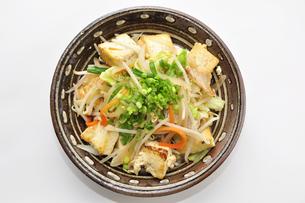 豆腐チャンプルーの写真素材 [FYI00309255]