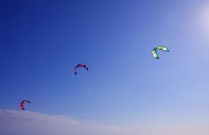 カイトサーフィンの写真素材 [FYI00309745]