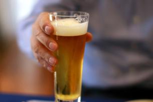 生ビールの写真素材 [FYI00309756]