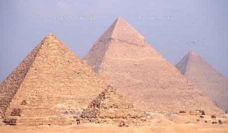 ピラミッドの写真素材 [FYI00309888]