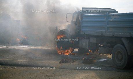 交通事故の写真素材 [FYI00309908]