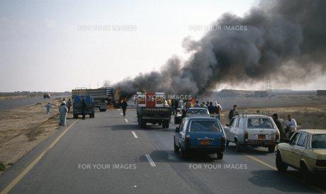 交通事故の写真素材 [FYI00309913]