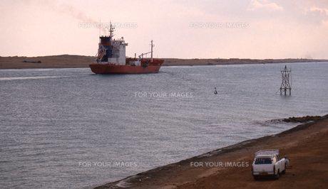 スエズ運河の写真素材 [FYI00309918]