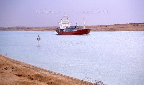スエズ運河の写真素材 [FYI00309921]