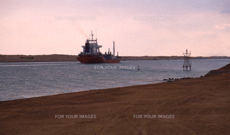 スエズ運河の写真素材 [FYI00309929]