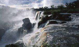イグアスの滝の写真素材 [FYI00310118]