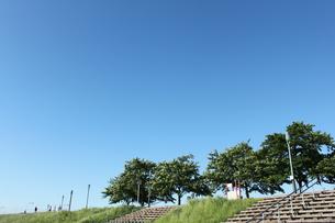 朝のジョギングコースの写真素材 [FYI00310389]