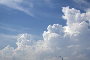 夏入道雲の写真素材 [FYI00310668]