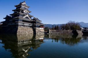 松本城の写真素材 [FYI00310699]