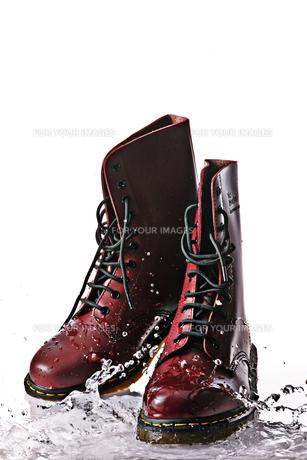 ブーツの素材 [FYI00310725]