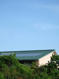 太陽発電の写真素材 [FYI00310920]