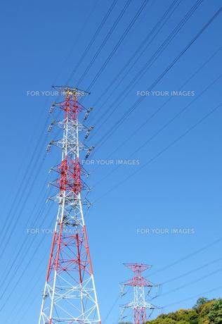 高圧電線鉄塔の素材 [FYI00310953]