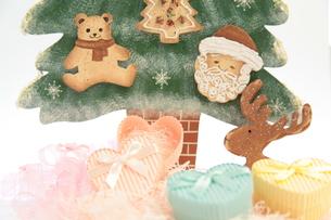 クリスマスイメージ(横)の写真素材 [FYI00311267]