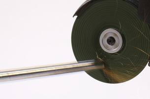 グライダーで切断面研磨の写真素材 [FYI00311277]