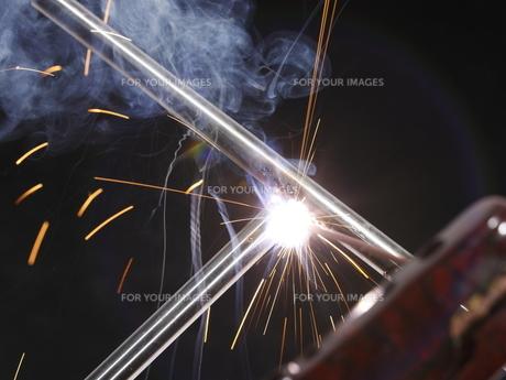 溶接作業3の写真素材 [FYI00311291]
