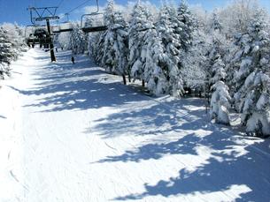 スキー場のリフトの写真素材 [FYI00311467]