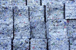 アルミ缶リサイクルの写真素材 [FYI00311514]