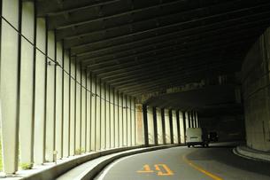 千国街道(糸魚川街道) 洞門 速度40キロの素材 [FYI00311662]