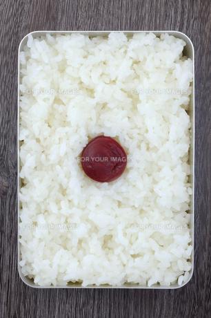 日の丸弁当の写真素材 [FYI00312085]