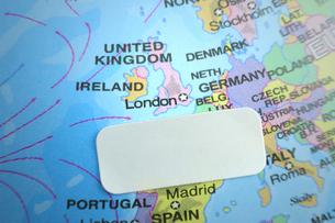 イギリス ロンドン 地図 ラベルの素材 [FYI00312129]