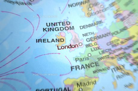 イギリス ロンドン 地図の素材 [FYI00312135]