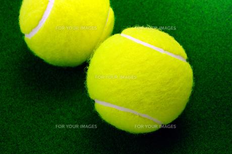 テニスボールの写真素材 [FYI00312179]