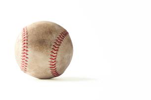 野球のボールの写真素材 [FYI00312205]