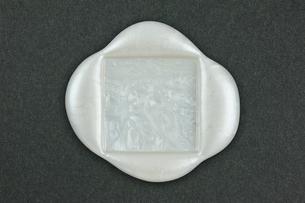 四角形の封蝋の写真素材 [FYI00312297]