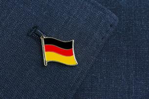 ドイツ国旗 ピンバッジの写真素材 [FYI00312366]