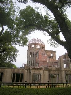 被爆地広島の原爆ドームの写真素材 [FYI00312398]