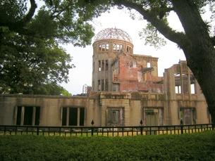 被爆地広島の原爆ドームの写真素材 [FYI00312401]