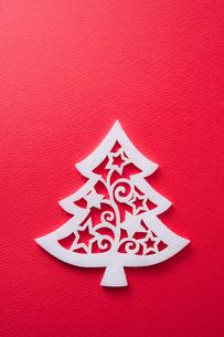 クリスマスツリー型のフェルトの素材 [FYI00312547]