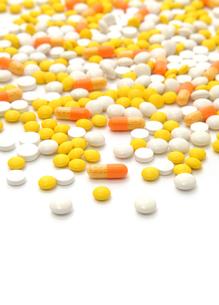 錠剤とカプセルの写真素材 [FYI00312634]
