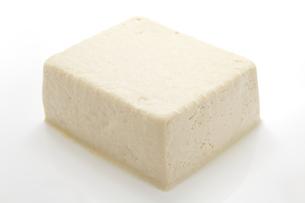 豆腐のアップの写真素材 [FYI00312680]