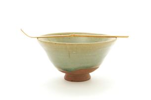 茶碗と茶杓の写真素材 [FYI00312688]