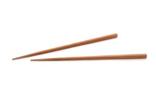 木の箸の写真素材 [FYI00312690]