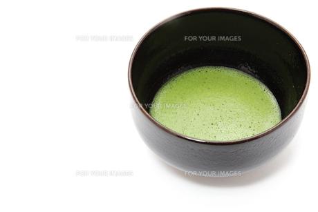 抹茶と茶碗の素材 [FYI00312692]