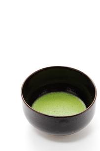 抹茶と茶碗の素材 [FYI00312700]