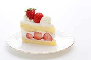 ストロベリーショートケーキの写真素材 [FYI00312839]
