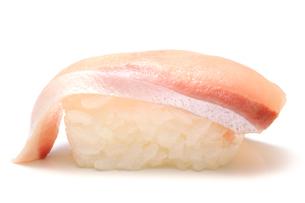 ハマチの握り寿司の写真素材 [FYI00312890]