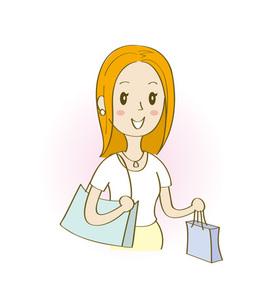 ショッピングの写真素材 [FYI00313129]