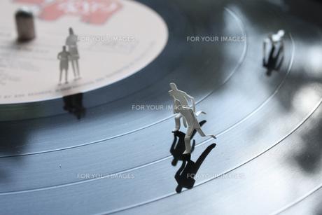 レコード盤の運動会の写真素材 [FYI00313188]