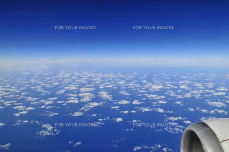 青い海と空の地平線の素材 [FYI00313189]