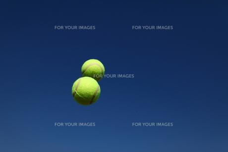 テニスボールの写真素材 [FYI00313331]